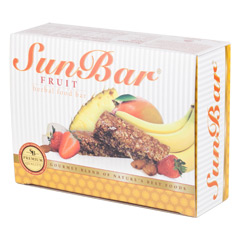 SunBar® Fruit 10 Bars  (1.06 oz./30 g each bar)