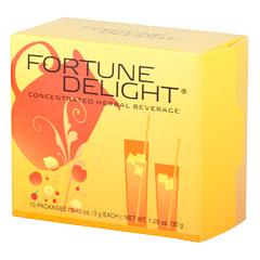 Fortune Delight? Peach 10/3 g Packs (0.10 oz./3 g each bag)