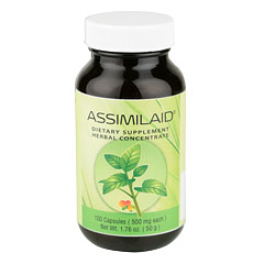 Assimilaid? 100 Capsules  (500 mg each capsule)