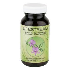Lifestream? 100 Capsules  (525 mg each capsule)