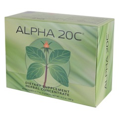 Alpha 20C® 60 Packs – Powder  (0.17 oz./5 g each bag)