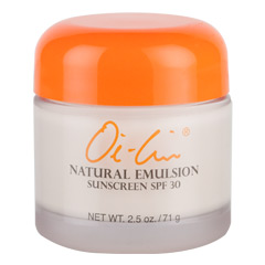 Oi-Lin® Natural Emulsion Sunscreen SPF 30 – Net Wt. 2.5 oz./71 g