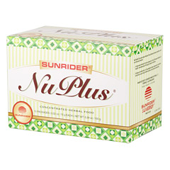 Sunrider® NuPlus® Naturally Plain™ 20 Packs (0.52 oz./15 g each bag)