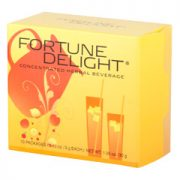 Sunrider® Fortune Delight Raspberry 10/3 g Packs (0.10 oz./3 g each bag)