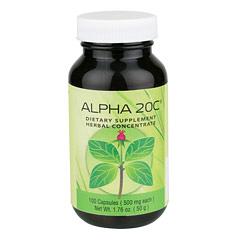 Sunrider® Alpha 20C® 100 Capsules (525 mg each capsule)