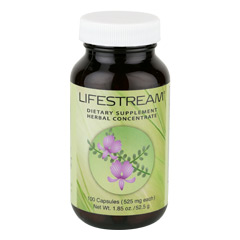 Sunrider® Lifestream® 100 Capsules (525 mg each capsule)