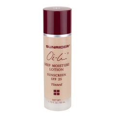 Sunrider® Oi-Lin® Deep Moisture Lotion Sunscreen SPF 25 - Net Wt. 1.75 fl. oz./50 mL