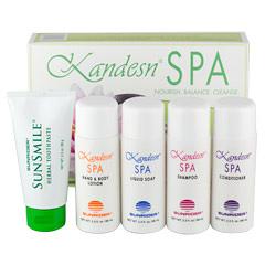 Kandesn® Spa Gift Set by Sunrider® - 1 Pack (2 oz. /57 g to 2.3 oz./65 g each bottle/tube)