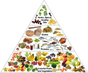 Good Nutrition Pyramid