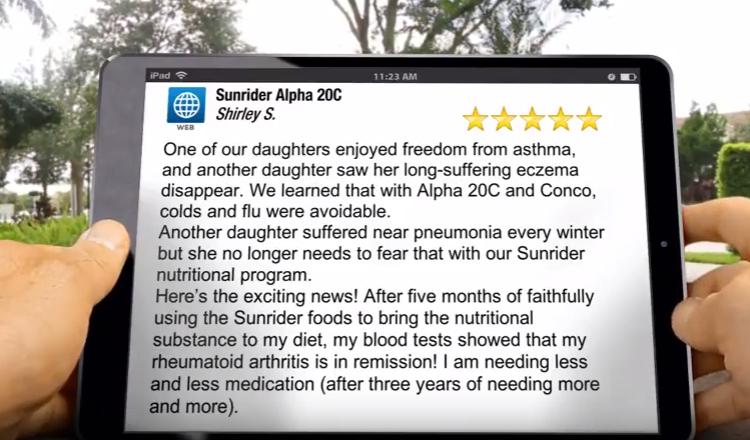 Sunrider Alpha 20C Review